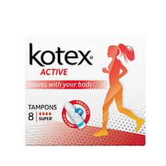 KOTEX Тампоны ACTIVE Супер 16 шт.