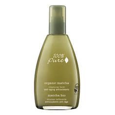 100% PURE Пенка для умывания органическая Organic Matcha Anti-Aging Antioxidants Collection 177 мл
