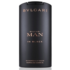 BVLGARI Шампунь и гель для душа Man In Black 200 мл