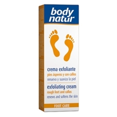 BODY NATUR Крем-скраб для ног против натоптышей и мозолей 100 мл
