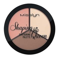 MISSLYN Палетка для контуринга лица Shaping Queen № 6