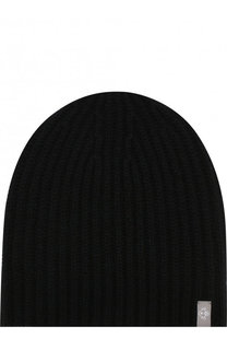 Кашемировая шапка фактурной вязки FTC