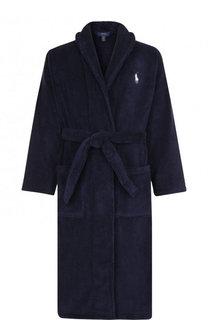 Однотонный хлопковый халат Ralph Lauren