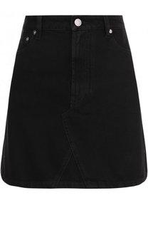 Джинсовая мини-юбка с карманами Valentino