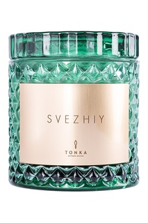 "Парфюмированная свеча ""S V E Z H I Y"", 300 g Tonka"