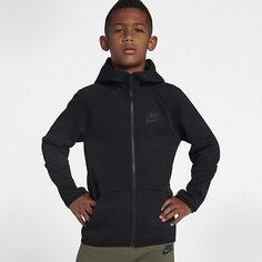Худи с молнией во всю длину для мальчиков школьного возраста Nike Sportswear Tech Fleece