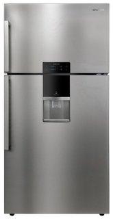 Холодильник Daewoo FGK-56EFG (серебристый)