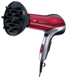 Фен Braun HD 770 Satin Hair 7 (черно-красный)
