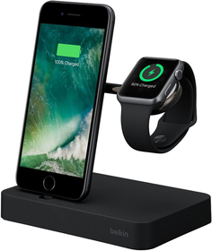 Док-станция Belkin F8J183vf для iPhone и Apple Watch (черный)