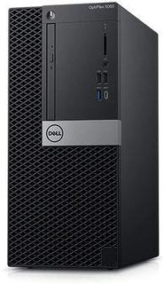 Компьютер DELL Optiplex 5060, Intel Core i5 8500, DDR4 8Гб, 256Гб(SSD), Intel UHD Graphics 630, DVD-RW, Linux, черный [5060-7625]