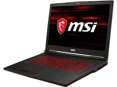 Ноутбук MSI GL73 8RC-249RU 9S7-17C612-249 Black (Intel Core i7-8750H 2.2 GHz/16384Mb/1000Gb + 128Gb SSD/No ODD/nVidia GeForce GTX 1050 4096Mb/Wi-Fi/Bluetooth/Cam/17.3/1920x1080/Windows 10 64-bit)
