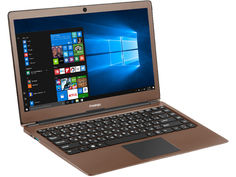 Ноутбук Prestigio SmartBook 133S Dark Brown PSB133S01CFH_DB_CIS (Intel Celeron N3350 1.1 GHz/4096Mb/32Gb/No ODD/Intel HD Graphics/Wi-Fi/Cam/13.3/Windows 10 64-bit)