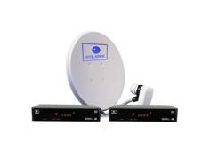 Комплект спутникового телевидения НТВ+ Комплект Старт на два TV