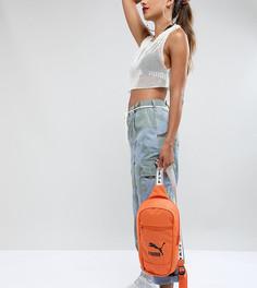 Оранжевая сумка через плечо эксклюзивно от Puma - Оранжевый