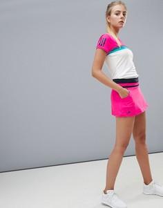Розовая теннисная юбка adidas Tennis - Розовый