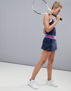 Черная теннисная юбка adidas - Черный