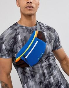 Сумка-кошелек на пояс в стиле колор блок ASOS 4505 running - Мульти