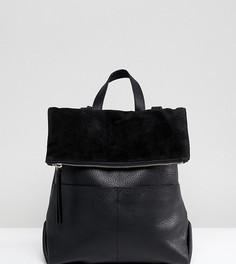 Черный кожаный рюкзак Accessorize Lydia - Черный