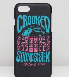 Чехол для iPhone 7/8 Crooked Tongues - Черный