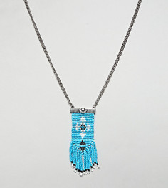 Фестивальный чокер с ацтекской отделкой Reclaimed Vintage Inspired эксклюзивно для ASOS - Мульти