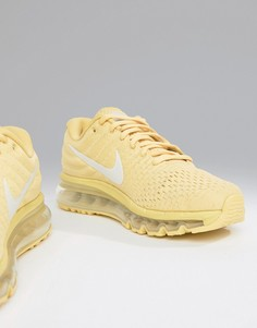 Кроссовки лимонного цвета Nike Running Air Max 2017 - Желтый