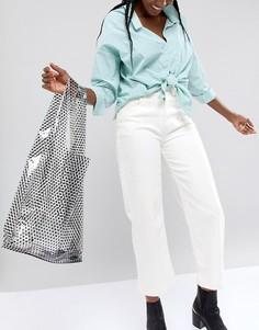 Пластмассовая сумка с ручками ASOS DESIGN - Очистить