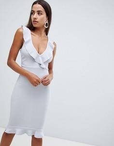 Платье-футляр AX Paris - Серебряный