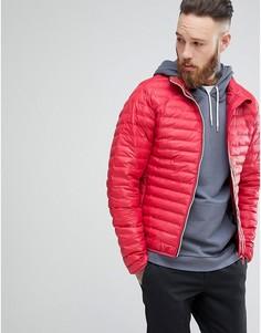 Красная дутая куртка Hunter - Красный