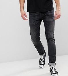 Выбеленные черные джинсы Nudie Jeans Co - Серый