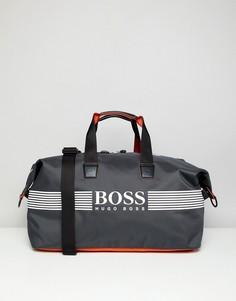 Серая сумка BOSS Pixel ZT - Серый