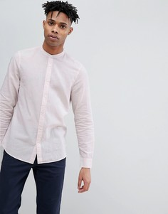 Розовая рубашка с добавлением льна Jack Wills Hetton - Розовый