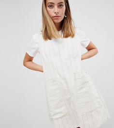 Повседневное платье мини А-силуэта в полоску ASOS DESIGN Petite - Мульти