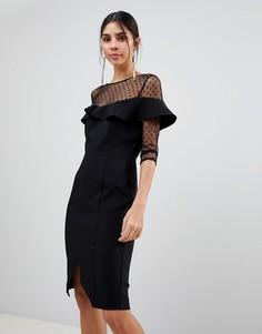 Платье Paper Dolls - Черный