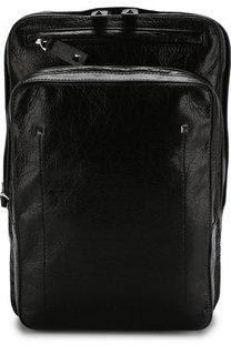 Кожаный рюкзак Valentino Garavani на одно плечо Valentino