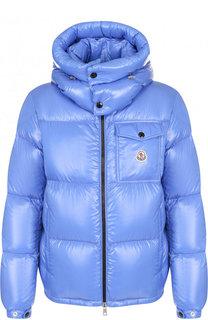 Утепленная куртка Montbeliard на молнии с капюшоном Moncler