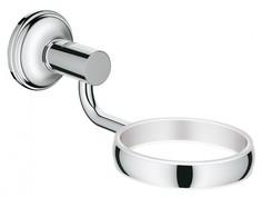 Держатель для мыльницы, стакана, дозатора жидкого мыла GROHE Essentials Authentic, хром