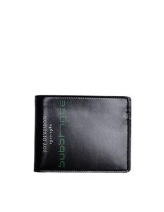 Черный кожаный кошелек Joy Division Raf Simons