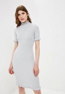 Платье LOST INK RUFFLE DETAIL TRIM BODYCON