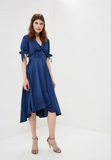 Платье LOST INK Satin Dipped Hem Tea Dress