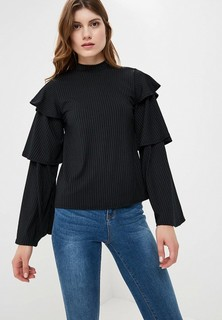 Блуза LOST INK LAYERED SLEEVE RIB TOP