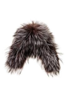 Серая меховая шапка Maison N20