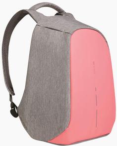 """Рюкзак XD Design Bobby Compact для ноутбука 14"""" (серо-розовый)"""