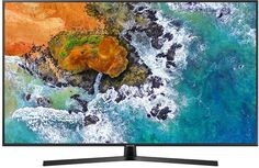 "LED телевизор SAMSUNG UE65NU7400UXRU ""R"", 65"", Ultra HD 4K (2160p), черный"