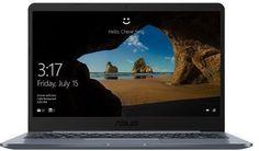 "Ноутбук ASUS VivoBook E406SA-BV001T, 14"", Intel Celeron N3060 1.6ГГц, 2Гб, 32Гб eMMC, Intel HD Graphics 400, Windows 10, 90NB0HK1-M02150, серый"