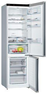 Холодильник BOSCH KGN39IJ3AR, двухкамерный, нержавеющая сталь