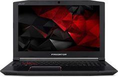 "Ноутбук ACER Predator Helios 300 PH315-51-52MZ, 15.6"", Intel Core i5 8300H 2.3ГГц, 16Гб, 1000Гб, 128Гб SSD, nVidia GeForce GTX 1050 Ti - 4096 Мб, Linux, NH.Q3HER.003, черный"