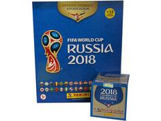 Альбом с 50 наклейками в боксе Panini Чемпионат Мира По Футболу FIFA 2018