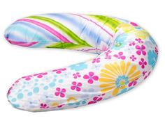 Подушка для беременных LeJoy Premium Полоски цветы PR-125