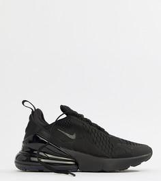 Черные кроссовки Nike Air Max 270 - Черный