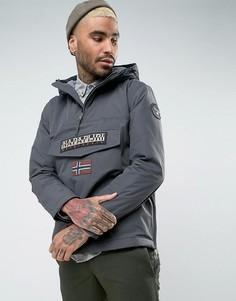 Темно-серая куртка Napapijri Rainforest - Серый